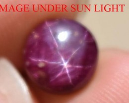 5.00 Ct Star Ruby CERTIFIED Beautiful Natural Unheated & Untreated
