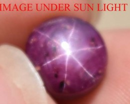 6.00 Ct Star Ruby CERTIFIED Beautiful Natural Unheated & Untreated