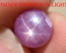 4.50 Ct Star Ruby CERTIFIED Beautiful Natural Unheated & Untreated