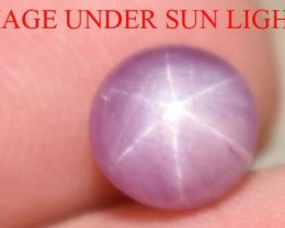 2.10 Ct Star Ruby CERTIFIED Beautiful Natural Unheated & Untreated