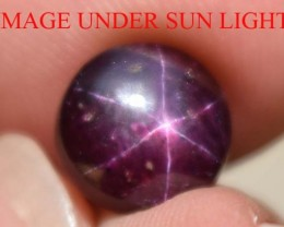 4.00 Ct Star Ruby CERTIFIED Beautiful Natural Unheated & Untreated
