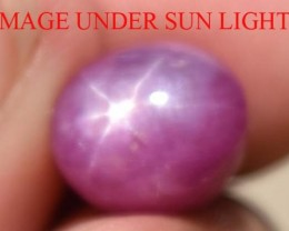 6.27 Ct Star Ruby CERTIFIED Beautiful Natural Unheated & Untreated