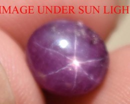 4.16 Ct Star Ruby CERTIFIED Beautiful Natural Unheated & Untreated