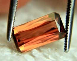 CERTIFIED - 2.31 Carat Orange VVS1 Zircon