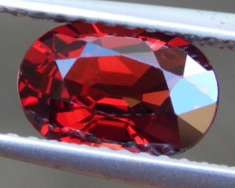 1.54ct Burma Red Spinel, 100% Untreated,