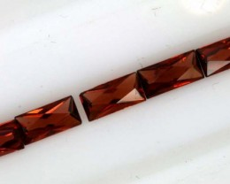 2.00CTS  GARNET FACETED PARCEL 5PCS PG-2331