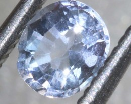 0.4CTS HACKMANITE SODALITE FACETED AFGHANISTAN STONE TBM-1365