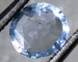0.5CTS HACKMANITE SODALITE FACETED AFGHANISTAN STONE TBM-1370