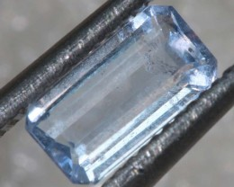 0.6CTS HACKMANITE SODALITE FACETED AFGHANISTAN STONE TBM-1373