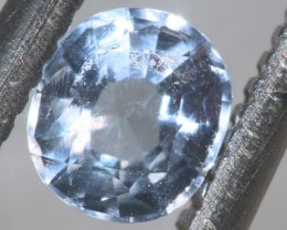 0.25CTS HACKMANITE SODALITE FACETED AFGHANISTAN STONE TBM-1376