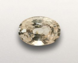 Natural Orangish Yellow Sapphire |Loose Gemstone|New| Sri Lanka