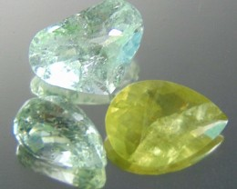 Natural included fancy fine faceted aquamarine31.35 cts