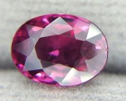 1.87Crt Natural Rhodolite Garnet Faceted Gemstone (R 68)