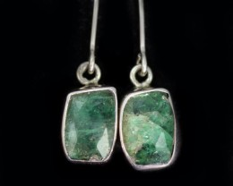 10.35 CTS EMERALD EARRINGS -FACTORY DIRECT [SJ4723]