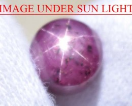 4.93 Ct Star Ruby CERTIFIED Beautiful Natural Unheated & Untreated