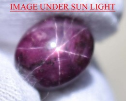 10.56 Ct Star Ruby CERTIFIED Beautiful Natural Unheated & Untreated
