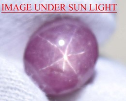 8.71 Ct Star Ruby CERTIFIED Beautiful Natural Unheated & Untreated