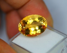 1.90Ct Natural Yellow Citrine Oval Cut