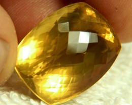 37.27 Golden Brazilian VVS1 Citrine - Gorgeous