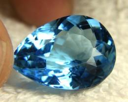 39.69 Carat IF/VVS1 Blue Brazilian Topaz - Superb