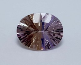 Amazing 2 Crt Bolivian Ametrine    Gemstone   Jl130