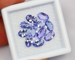 Lot 12 ~ 3.95Ct Natural Purplish Blue Tanzanite