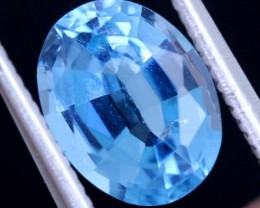 2.05 CTS BLUE TOPAZ STONE  CG-2304
