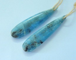 Hot Sale!! Natural Blue Kyanite Teardrop Earrings,Fashion Earring Dangle Fo
