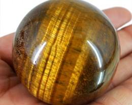 Genuine 621.50 Cts Tiger Eye Healing Ball