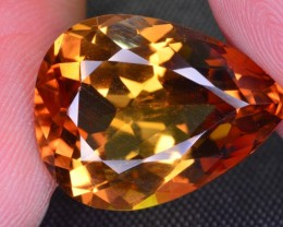 NATURAL 21 CT BROWN TOPAZ GEMSTONE FOR JEWELLERY