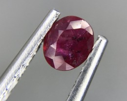 0.60 CT RED RUBY HIGH QUALITY GEMSTONE S54