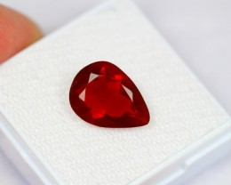 Lot 10 ~ 2.68Ct Natural Mexican Red Fire Opal
