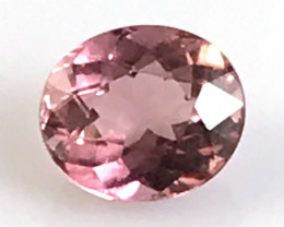 CERTIFIED 1.26ct light Chocolatey Pink  Tourmaline, Brazil B212 G308