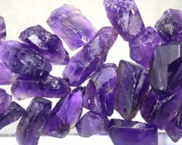 50CTS AMETHYST BRAZIL ROUGH PARCEL RG-2307