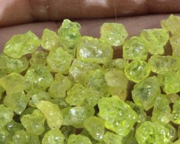 75CTS PERIDOT ROUGH PARCEL RG-2316