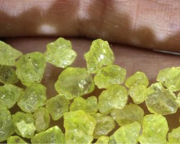 50CTS PERIDOT ROUGH PARCEL RG-2332