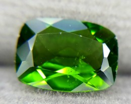1.14Crt Natural Chrome Diopside Faceted Gemstone (R 70)