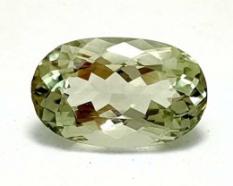 7.85 CT PRASOLITE GREEN AMETHYST  BEST QUALITY GEMSTONE IGC55