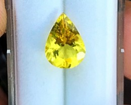 2.25 cts HELIODOR - VVS - BEST COLOR EVER FROM BRAZIL!!