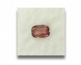 Natural orangish Pink |Loose Gemstone|New Certified| Sri Lanka