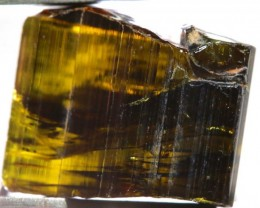 25.3CTS TOURMALINE WHISKY NATURAL ROUGH RG-2378