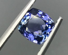 1.45 CT NATURAL TANZANITE HIGH QUALITY GEMSTONE S55