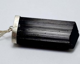 114 CT BLACK TOURMALINE  BEST QUALITY GEMSTONE IGC56