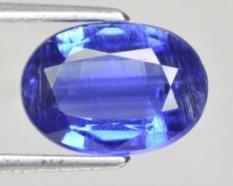 4.28 Cts Natural Kyanite Kashmir Blue Oval Nepal Gem