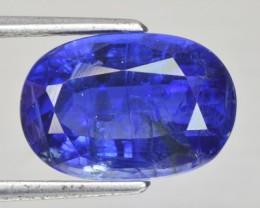 6.15 Cts Natural Kyanite Kashmir Blue Oval Nepal Gem