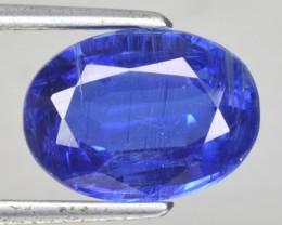 4.04 Cts Natural Kyanite Kashmir Blue Oval Nepal Gem
