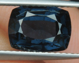 2.61cts, Blue Spinel,  Certified,  100% Untreated,