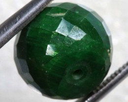 17.4CTS EMERALD BEAD FACETED CG-2316