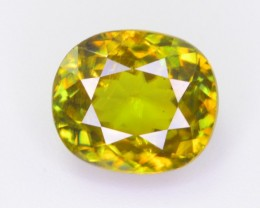 CERTIFIED 4 CT NATURAL BEAUTIFUL TOP QUALITY SPHENE