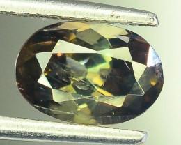Rare 1.20 ct Multicolor Natural Axinite